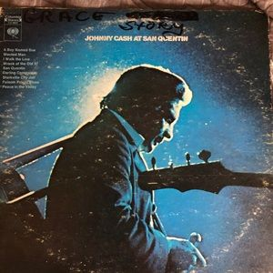 Johnny Cash – Johnny Cash At San Quentin Vinyl LP